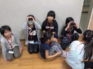 天体観測 双眼鏡の使い方練習